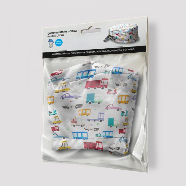 Packaging Gorro sanitario Coches