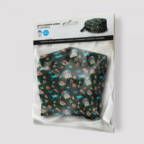 Packaging Gorro sanitario Frida