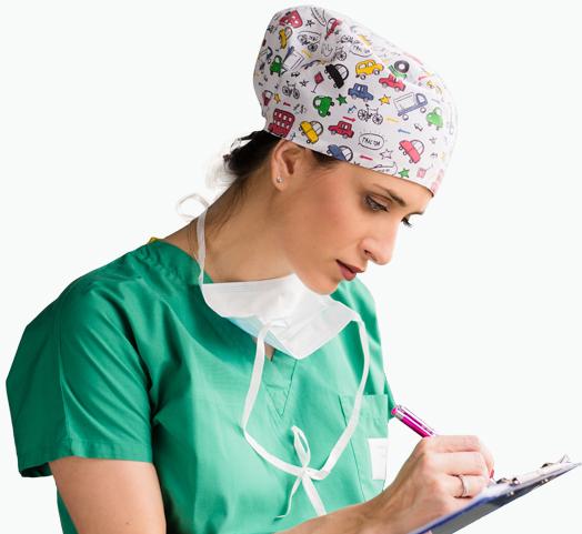 La importancia del gorro sanitario en el quirófano