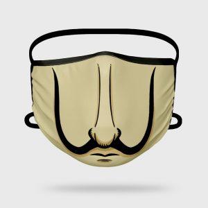 Mascarilla higiénica Dalí