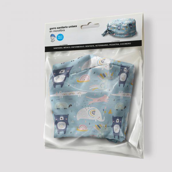 Packaging Gorro sanitario Cocodrilo y Oso