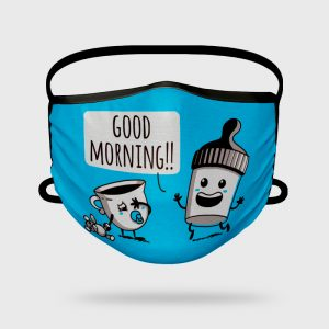 Mascarilla Higiénica Good Morning