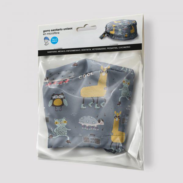 Packaging Gorro Sanitario Llama