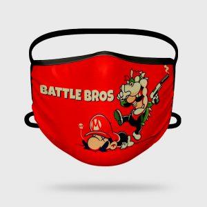 Mascarilla Higiénica Battle Bros