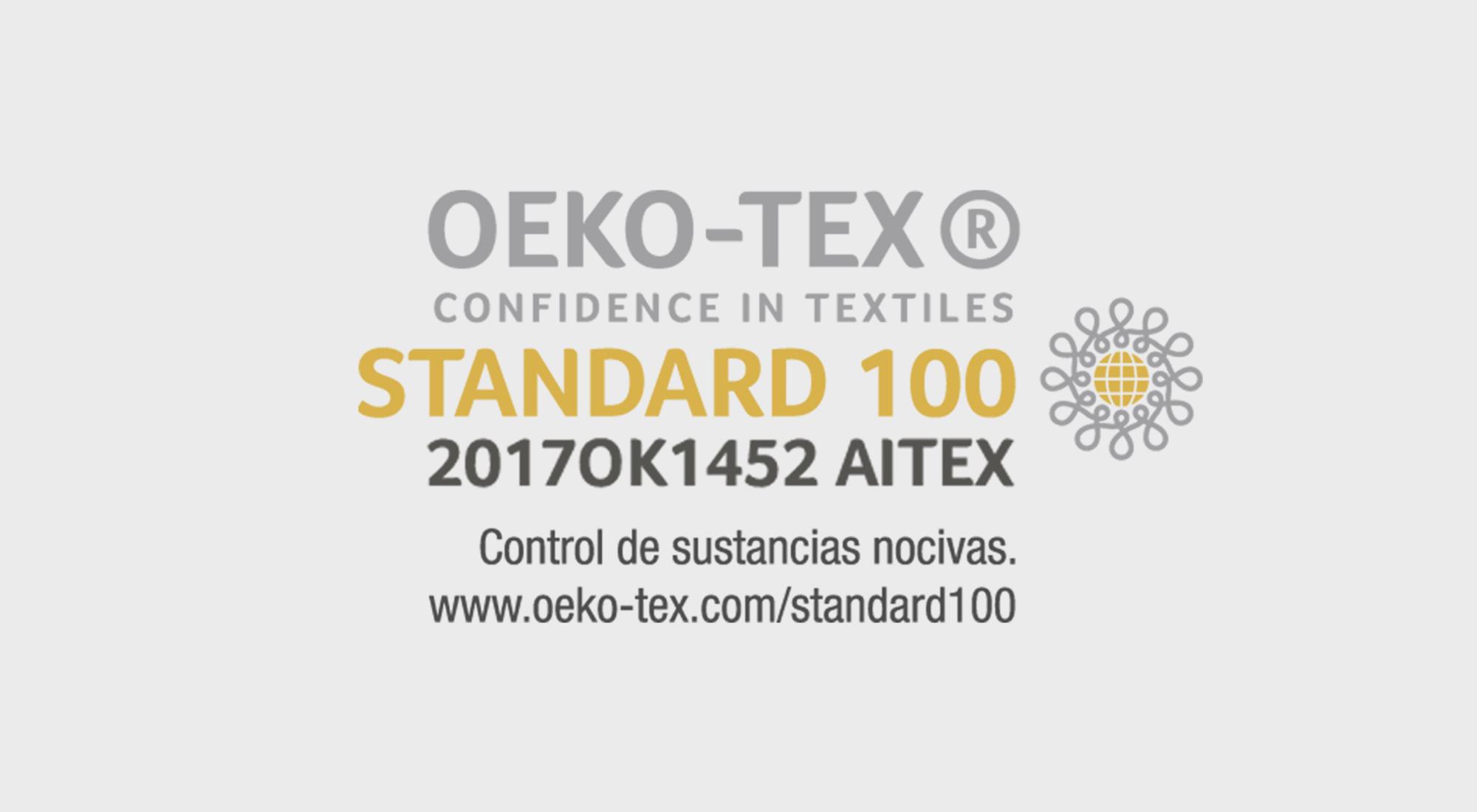 Que es la Certificación Standar 100 OEKO-TEX