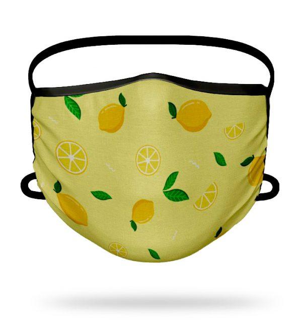 Mascarilla higiénica Limones