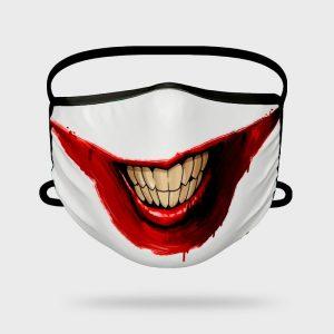 Mascarilla Higiénica Creepy Smile