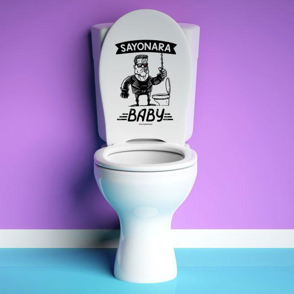 Vinilo baño Sayonara Baby